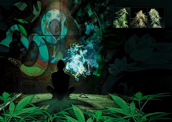Cannabis-und-Meditation
