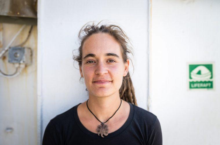Carola Rackete, Kapitänin der Sea-Watch 3 und ihr Buch Handeln statt Hoffen – Aufruf an die letzte Generation