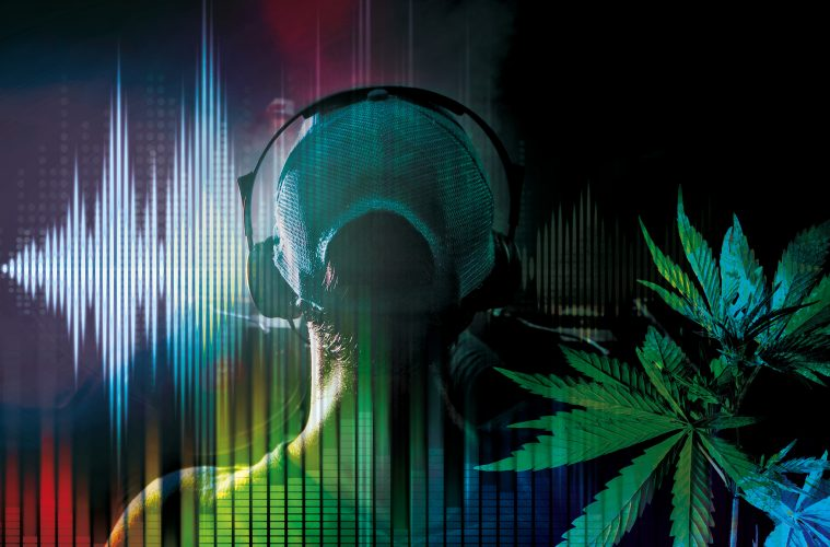Ein ekstatisch-dionysischer Gesamtrausch: Cannabis und Musik