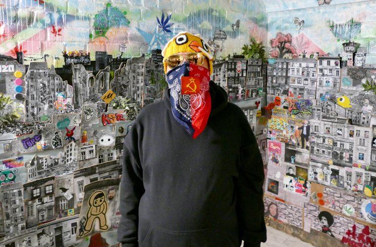 Kunst und Cannabis - Berliner Street-Art-Künstler verschönerten das Hanf Museum
